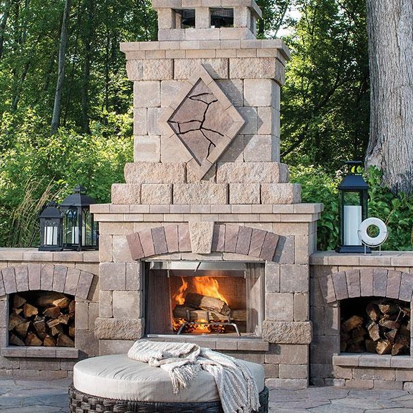 Outdoor Fireplaces Ovens Core Building Materials